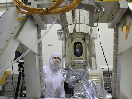 The SAGE III/ISS instrument has been undergoing rigorous testing and review leading up to the scheduled 2016 launch. Flight components are being put through a battery of environmental tests to ensure that they will perform as planned while withstanding the rigors of launch and the harsh environment of space.
